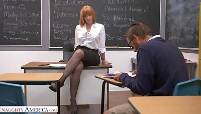 Prof. Sara Jay gives student her big ass!