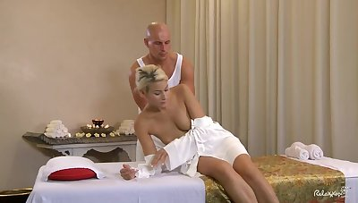 Titillating massage leads to lustful sex with gorgeous Czech festival Ander Ways