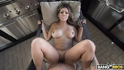 Nicole Ray Gets Their way Latin Pussy Creamed
