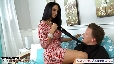 Having at the end of one's tether with BJ bootylicious sexy Ava Addams gets hammered doggy