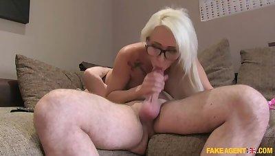 Cum Swallowing Cute Hungarian Babe