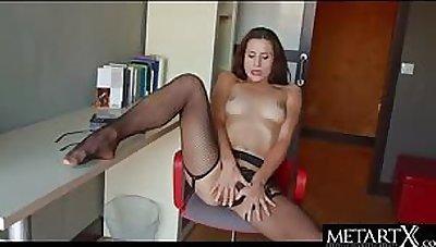 Hot non-specific in lingerie to masturbate
