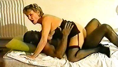 British Blonde Bbw Interracial