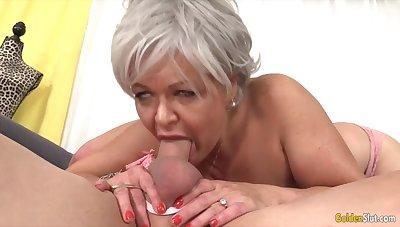GoldenSlut - Elder statesman Ladies Wind Their Flannel Sucking Skills Compilation 19