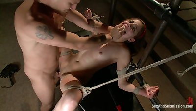 Confined Evilyn Pete BDSM thraldom rough fucking