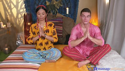Blue action with a smashing Thai beauty avid for cock
