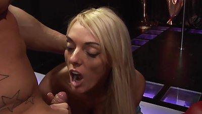 Wild FFM threesome sex with sluts Jasmine Black and Jennifer Toth