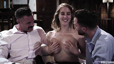Sexy babe Cadence Lux is a true attention whore who loves MMF threesomes