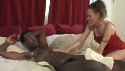 Nasty Big Black Cock Be worthwhile for White Get hitched That Fuck Her All