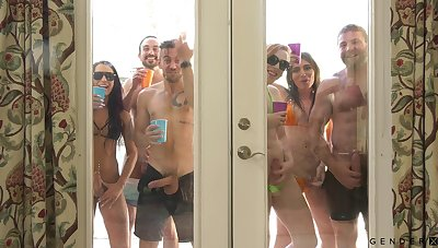 These people love to party increased by they have transmitted to craziest orgies ever