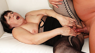 ugly 68 ripen aged mom rough fucked