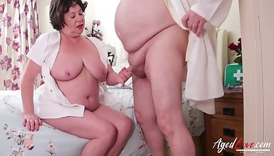 Hardcore mature sexual intercourse with doctor and nurse and blowjob